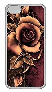 Cool Orange Rose For SamSung Galaxy S4 Mini Case Cover Him