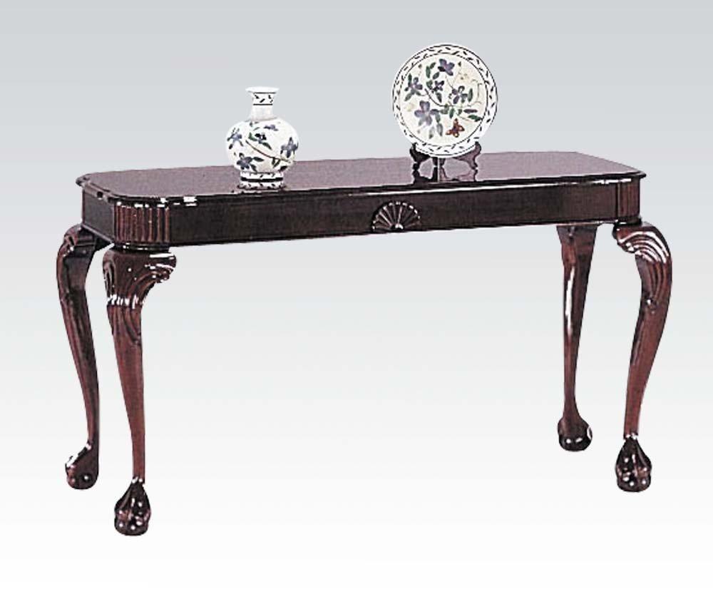 1PerfectChoice Canebury Cherry Sofa Table