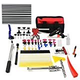 Furuix 68pcs PDR Tool Kit Dent Repair Tools Car Dent Remover Paintless Dent Removal Kit PDR Glue Pulling Auto Dent Puller