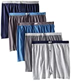 Fruit of the Loom Men's 5Pack Knit Boxer Shorts Boxers Cotton Underwear M