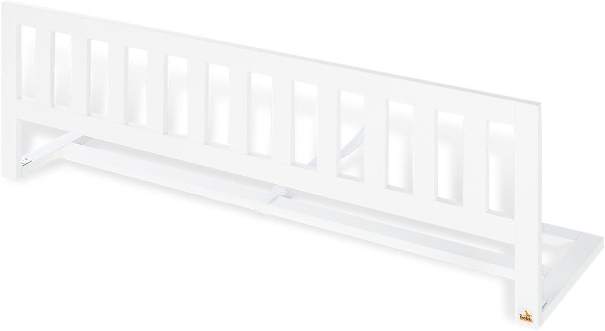 Reja protectora para la cama Pinolino 172026/ blanco wei/ß Talla:L 120 x B 33 x H 36 cm
