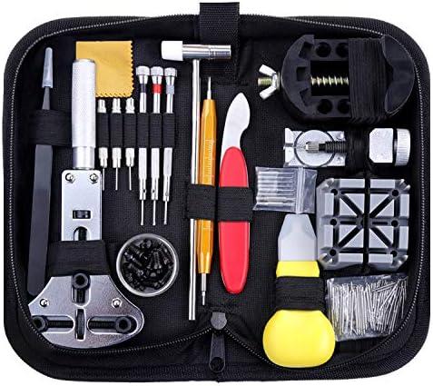 Zacro 151 Pcs Kit de Reparación de Relojes, con Herramientas de ...