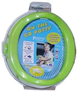 Kalencom POTETTE - On the Go Potty Green (Discontinued by Manufacturer)