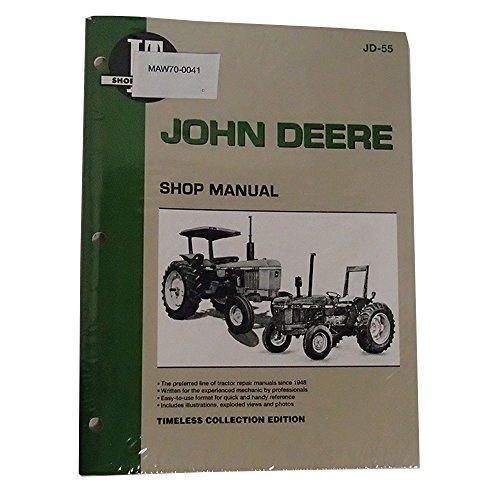 - IT Shop Service Manual JD-55 for John Deere 1250 1450 1650