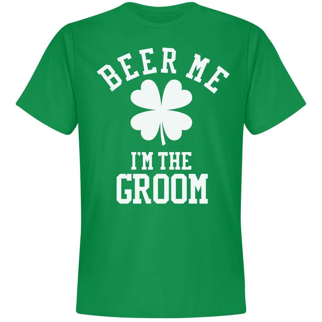 St. Patricks Irish Groom Beer Unisex Next Level Premium Tshirt