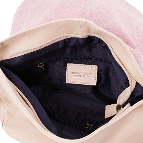 Tuscany Leather TL Bag Borsa morbida a tracolla con nappa Blu scuro Nude Éxito De Ventas En Línea Barata Comprar Tienda De Espacio Libre Barato En Italia La Venta En Línea Descuento Del Límite g7ck8btF