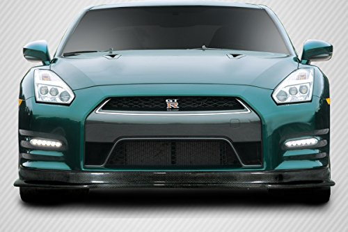 Carbon Creations ED-MDZ-979 HK Front Lip Spoiler - 1 Piece Body Kit - Compatible For Nissan GTR 2012-2016
