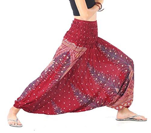 CandyHusky Women Hippie Elastic Jumpsuit product image