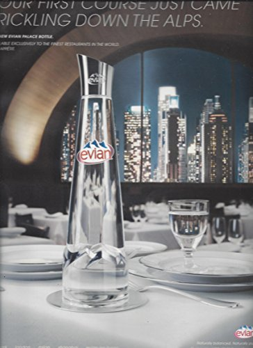 magazine-ad-for-2007-evian-water-your-first-course-just-came-trickling-down