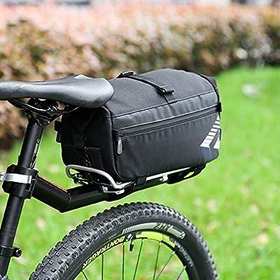 Bolsa De Bicicleta Para Asiento Trasero/Alforjas Bicicleta Montaña ...