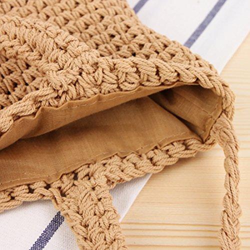 l'épaule femme porter crochet pour à TOYIS bag Beige à Sac 8OIBP