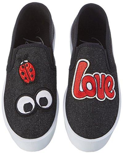 black 1309 01 Bl Donna Nero Sneaker Bmilesl Blink fY6wP
