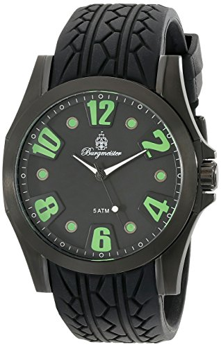 Burgmeister Men's BM606-622D Black Spirit Analog Watch