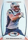 Rob Gronkowski (5) Assorted Football Cards Bundle