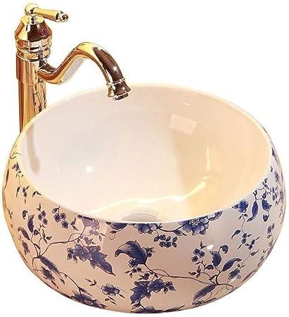 Lavabos, ronde en céramique Art du bassin de petite taille ...