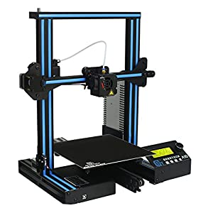 GEEETECH A10 3D Printer, Fast-Assembled Aluminum Profile DIY kit, with Open Source firmware, High Adhesion Building Platform, Stable Movements on V-Slot Rails, 220×220×260mm Printing Size.