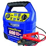 GoodYear GY3031 600 Amp Power Pack with AGM Battery & 8 Gauge Booster Clamps, Blue