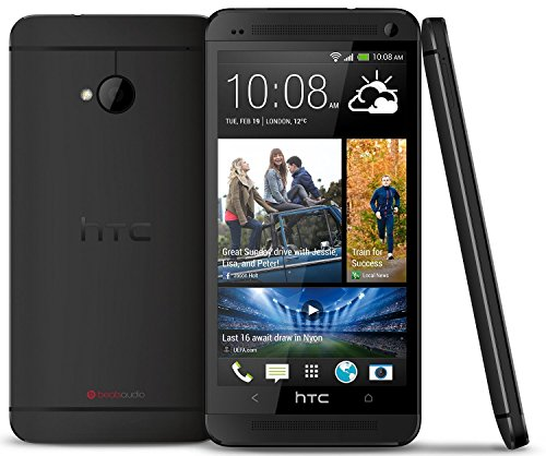 HTC One M7 32GB GSM Unlocked 4G LTE Android Smartphone - Black