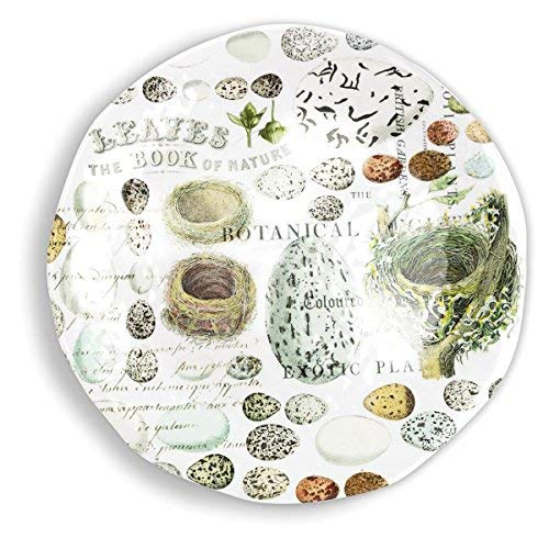 Michel Design Works Nest & Eggs Large Round Melamine Platter - Design Platter Melamine