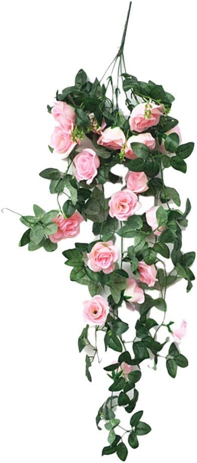 Rose Ivy Brides Autumn Winter Cascading  Christmas Silk Wedding Bouquet Flowers