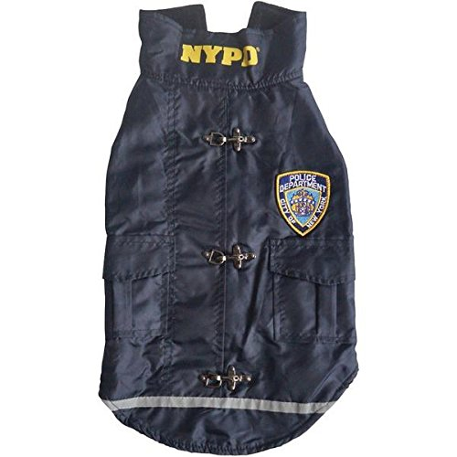 Royal Animals Nypd Water-resistant Dog Coat (x-small) RYL13Z1009XS