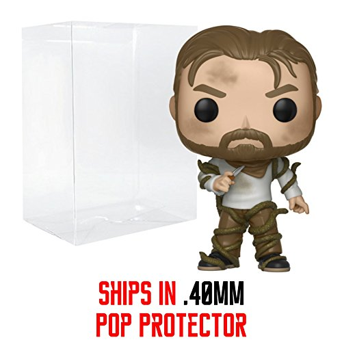 - Funko Pop! Stranger Things - Hopper with Vines Vinyl Figure (Bundled with Pop Box Protector Case)