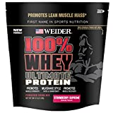 Weider 100% Whey Ultimate Powder, Strawberry Supreme, 2.0 Pound Review