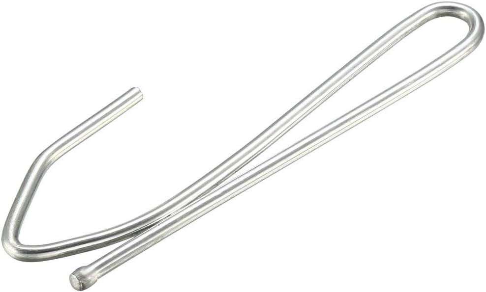 "30 Pin-On Metal Vintage Curtain Drapery Hooks Pinch Pleat 2 3//4/"" Pins W//CLIP"