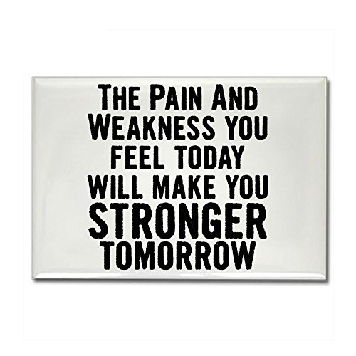 CafePress - Stronger Tomorrow Rectangle Magnet - Rectangle Magnet, 2