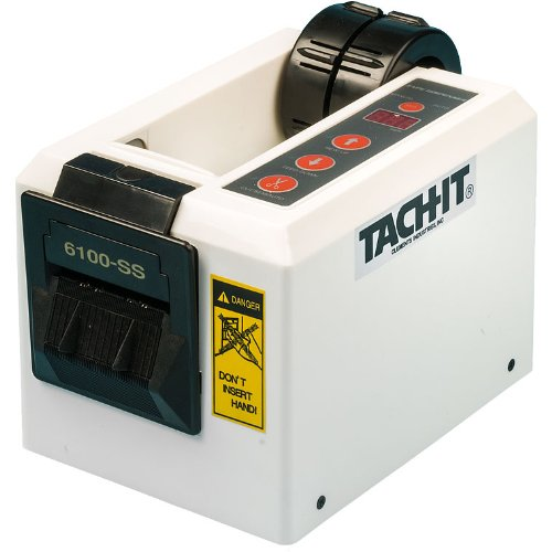 Tach-It 6100-SS Semi-Automatic Definite Length Tape Dispenser by Tach-It