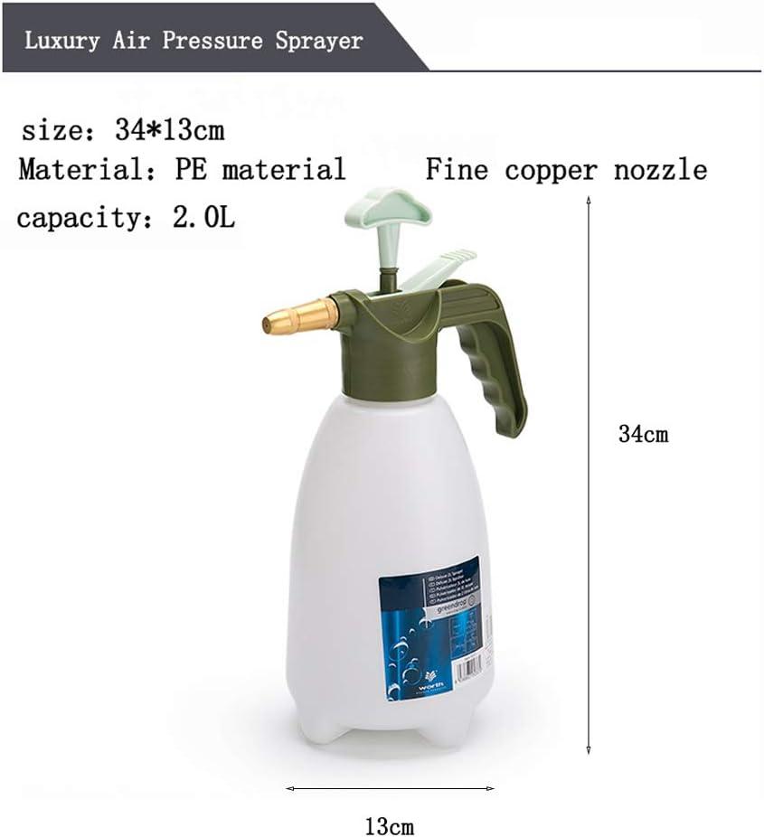 HUAA pulverizador,Pulverizador de presión Manual,para pulverización de Agua,desinfección Interior y Exterior,pulverización de pesticidas,Blanco