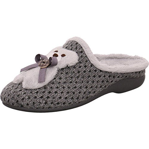 Garzón 7179.268 - Zapatillas de estar por casa para mujer gris