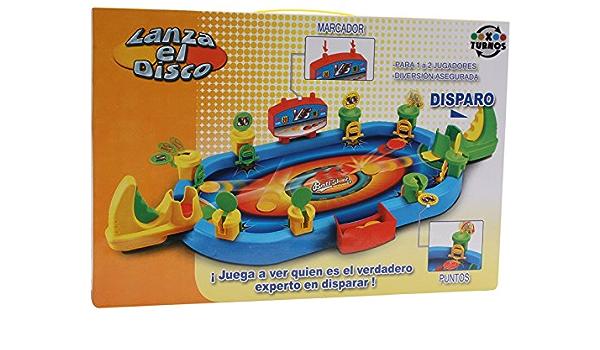 Juego lanza el disco: Amazon.es: Juguetes y juegos