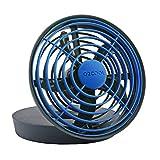 Appliances : O2COOL 5-Inch Portable USB Fan, Blue