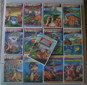 Amazon Com Land Before Time Complete Series Dvd Box Set
