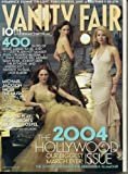 Vanity Fair March 2004 Fold-out cover with Julianne Moore, Jennifer Connelly, Gwyneth Paltrow, Naomi Watts, Salma Hyek, Jennifer Aniston, Kirsten Dunst, Diane Lane, Lucy Liu, Hilary Swank, + 3 more