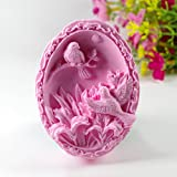 Longzang S450 Birds Silicone Soap Mold Craft