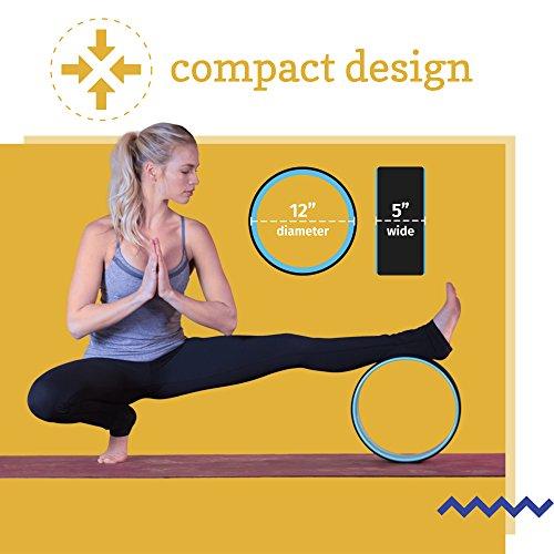 Seigla Yoga Rueda Basic 12 backbends, Poses y Equilibrio ...
