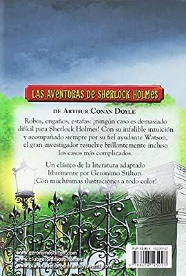 Las aventuras de Sherlock Holmes Grandes historias Stilton: Amazon ...