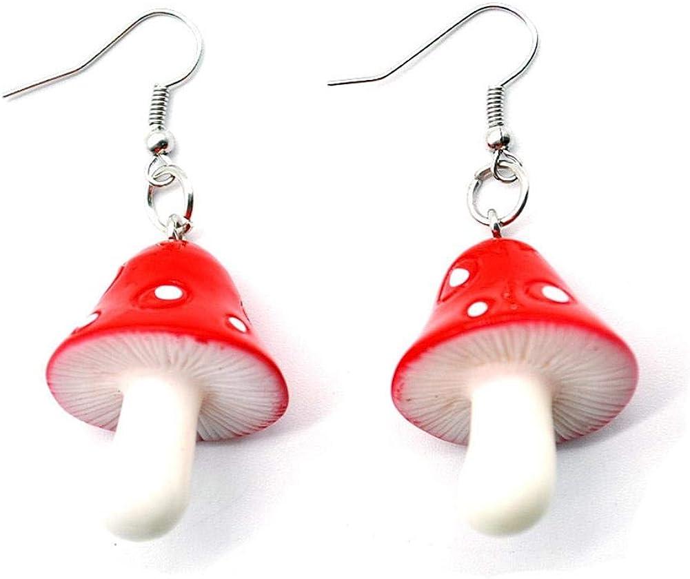 Blooming Girlfriend Mushroom Earrings