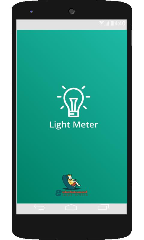 Lux Light Meter App