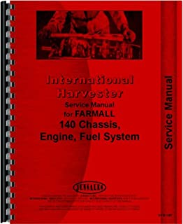 farmall 140 tractor service manual
