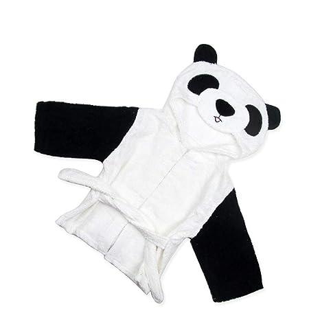 Albornoz Para Niños Panda Design Bebé recién nacido con capucha ...