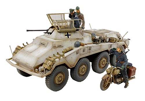 German Heavy Machine Gun - Tamiya Models Sd.Kfz.234/1 German Heavy Armored Car