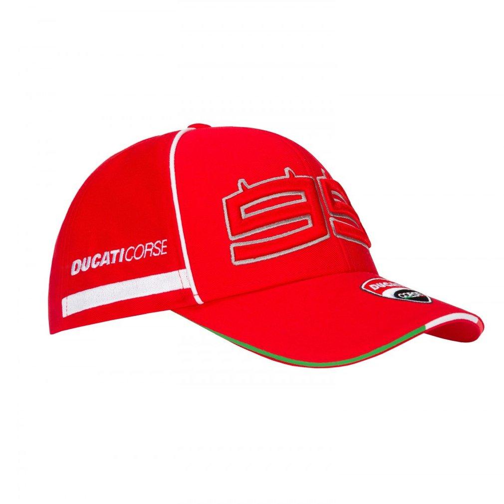 Ducati Corse Jorge Lorenzo 99 Moto GP Racing Casquette Officiel 2018