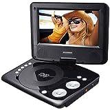 Sylvania SDVD7029 Portable DVD Player with 7'' Swivel Screen (Renewed)