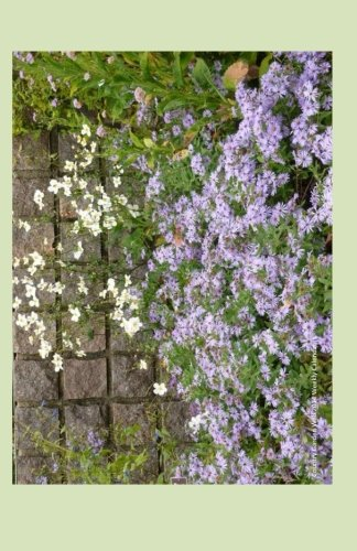 Country Garden Wall 2014 Weekly Calendar: 2014 weekly calendar with a photo of a country garden wall with purple asters and white daisies ()