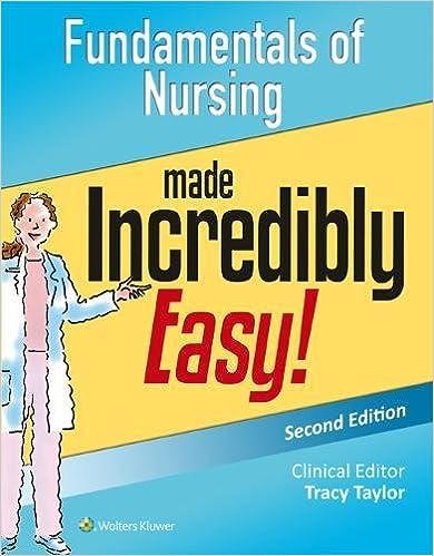 Fundamentals Of Nursing Made Incredibly Easy Incredibly