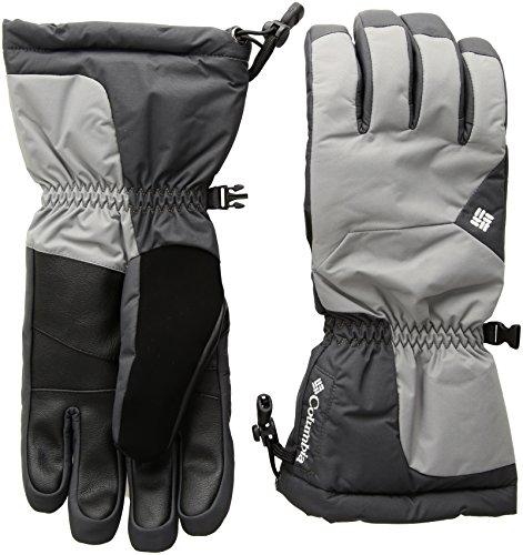 Columbia Men's Tumalo Mountain Gloves, Boulder/Shark, (Columbia Lightweight Gloves)