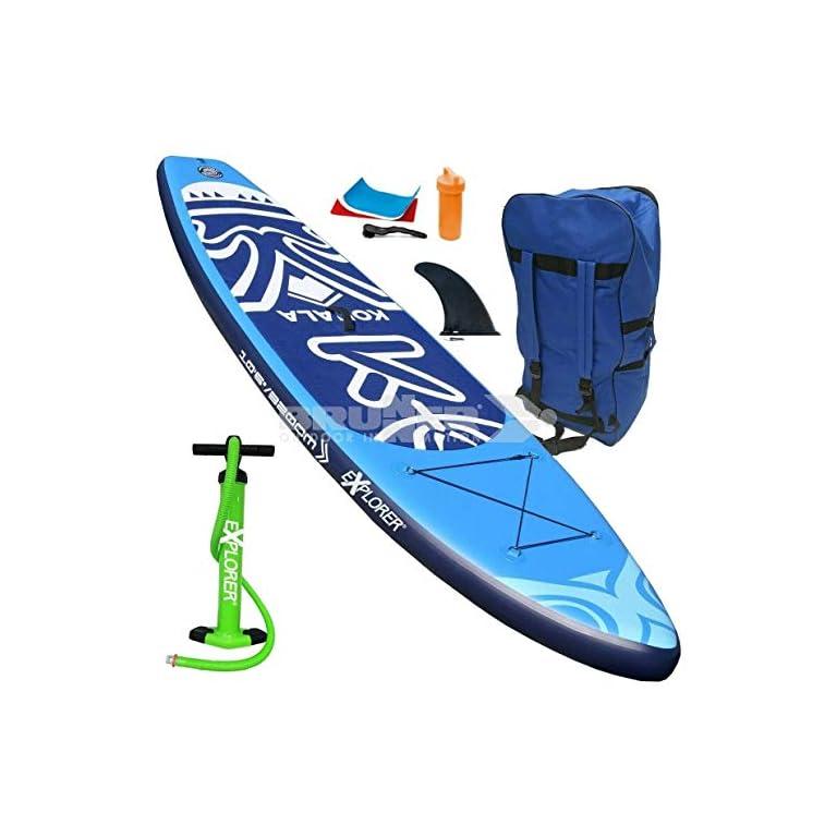 EXPLORER SUP Kohala 320 Stand Up Paddle Surf Board Paddel ISUP Paddling Aqua